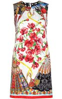 Dolce & Gabbana Brocade Dress - Lyst