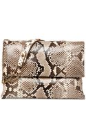 Lanvin Sugar Medium Python Shoulder Bag - Lyst