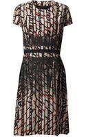 Bottega Veneta Fence Dress - Lyst