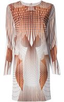 Clover Canyon Geometric Print Jersey Dress - Lyst