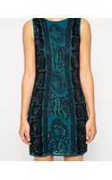 Asos Embellished Cable Bodyconscious Dress - Lyst