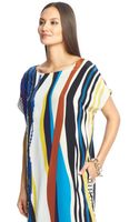 Diane Von Furstenberg Tania Embellished Silk Tunic Dress - Lyst