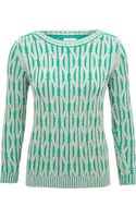 Cc Petite Chunky Cable Jumper - Lyst