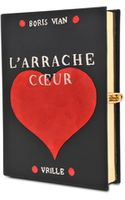 Olympia Le-Tan L Arrache Côur Clutch - Lyst