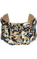 Sam Edelman Paint Splatter Cuff Bracelet - Lyst