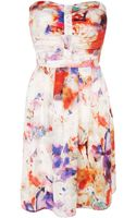 Coast Coco Print Bandeau Dress - Lyst