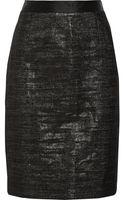 Proenza Schouler Metallic Wool-blend Skirt - Lyst