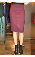 Giada Forte Pencil Skirt Prugna Plum - Lyst