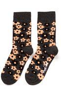 Happy Socks Flower Socks - Lyst