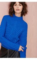 Nasty Gal Christine Crop Sweater - Lyst