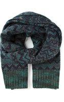 Missoni Zig Zag Crochet Knit Scarf - Lyst