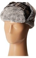 Woolrich Chnille Aviator W Faux Fur Lining and Earflaps - Lyst