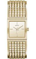 DKNY Womens Bryant Park Studded Goldtone Stainless Steel Bangle Bracelet Watch 21mm - Lyst