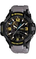 G-shock Baby G Mens Charcoal Yellow Aviation Watch - Lyst