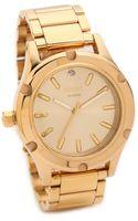 Nixon Camden Watch  Gold - Lyst