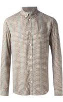 Paul & Joe Printed Shirt - Lyst
