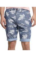 Tommy Hilfiger Batik Island Print Shorts - Lyst