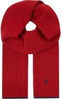 Ralph Lauren Ribbed Scarf - Lyst