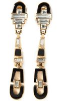 Céline Vintage Clip On Earrings - Lyst
