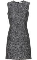 Balenciaga Wool Blend Jacquard Dress - Lyst