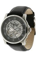 Kenneth Cole Automaticdial Leather Strap Watch - Lyst