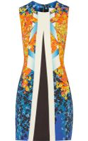 Peter Pilotto Aureta Printed Woven Dress - Lyst