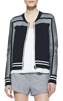 Rag & Bone Sammi Jersey Zipfront Jacket - Lyst
