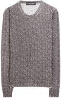 Dolce & Gabbana Herringboneprint Wool Top - Lyst