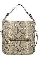 Nine West Nolita Pebbled Leather Hobo Bag - Lyst