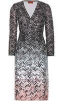 Missoni Crochetknit Dress - Lyst