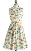 ModCloth Youre in Luck Dress in Pie - Lyst