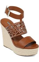 BCBGeneration Suzie Platform Wedge Sandals - Lyst