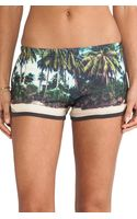 All Things Fabulous Track Shorts - Lyst