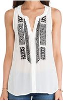 Sanctuary Crafted Tank - Lyst
