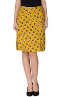 Duro Olowu Knee Length Skirt - Lyst