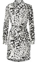 Diane von Furstenberg Prita Printed Silk Crepe De Chine Dress - Lyst