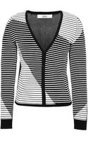 Prabal Gurung Striped Knit Cardigan - Lyst