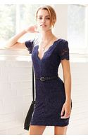 Kimchi Blue Scallop Lace Bodycon Dress - Lyst