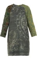 By Walid Lotus Vintage Crochet Piano Shawl Dress - Lyst