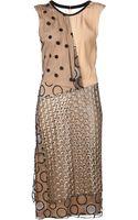 Reed Krakoff Draped Dress - Lyst