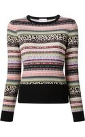 RED Valentino Fair Island Print Sweater - Lyst