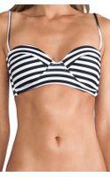 Mikoh Swimwear Swimwear Bordeaux Bikini Top - Lyst