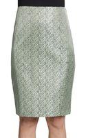 Elie Tahari Gretchen Pencil Skirt - Lyst
