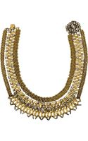 Erickson Beamon Goldplated Swarovski Crystal Necklace - Lyst