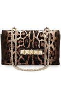 Valentino Va Va Voom Calf Hair Shoulder Bag - Lyst