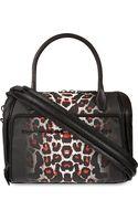 McQ by Alexander McQueen Mcq Leopard Print Bowling Bag Alexander Mcqueen White Leopard - Lyst