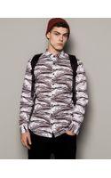 Pull&Bear Print Shirt - Lyst