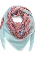Forever 21 Frayed Paisley Scarf - Lyst