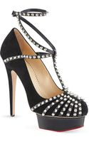 Charlotte Olympia Angry Portia Platform Courts - Lyst