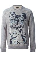 Marc Jacobs Printed Sweatshirt - Lyst